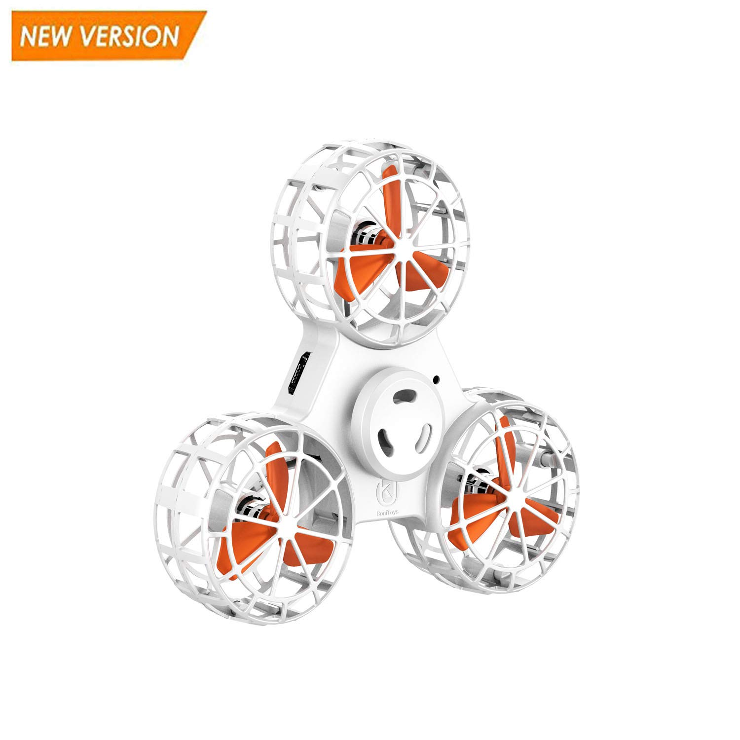 EliveBuy 【Upgrade Version】 Anti-Anxiety Fidget Toy, Flying Fidget Spinner, Mini Drone with 6 LED Pattern, USB Rechargeable, Flying Toy Gift for Kids by EliveBuy (Image #1)