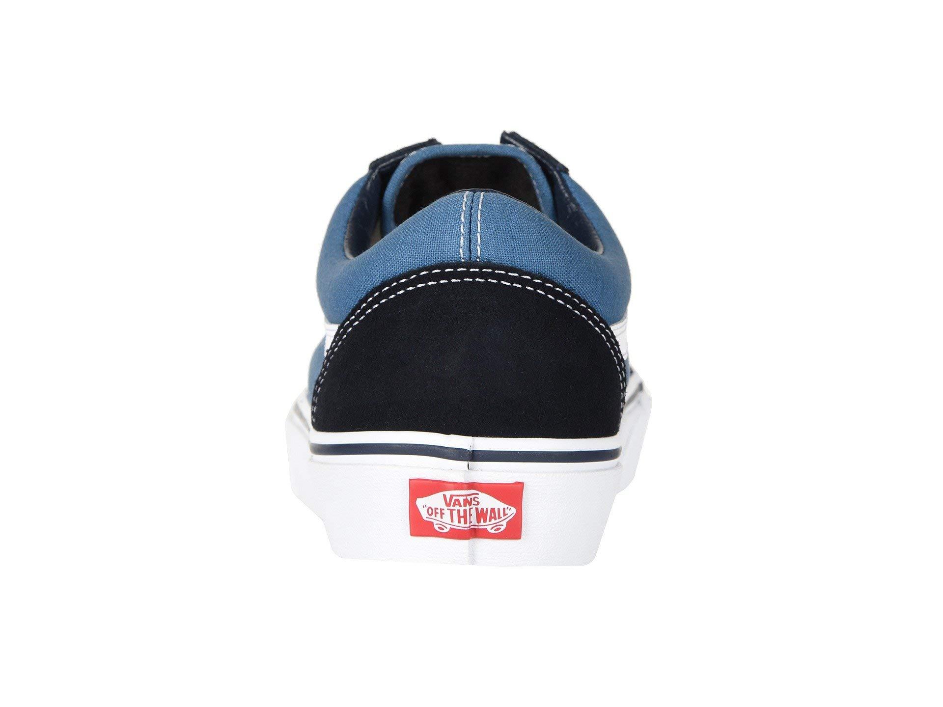 Vans Off The Wall Old Skool Sneakers (Navy) Men's Skateboarding Shoes by Vans (Image #5)
