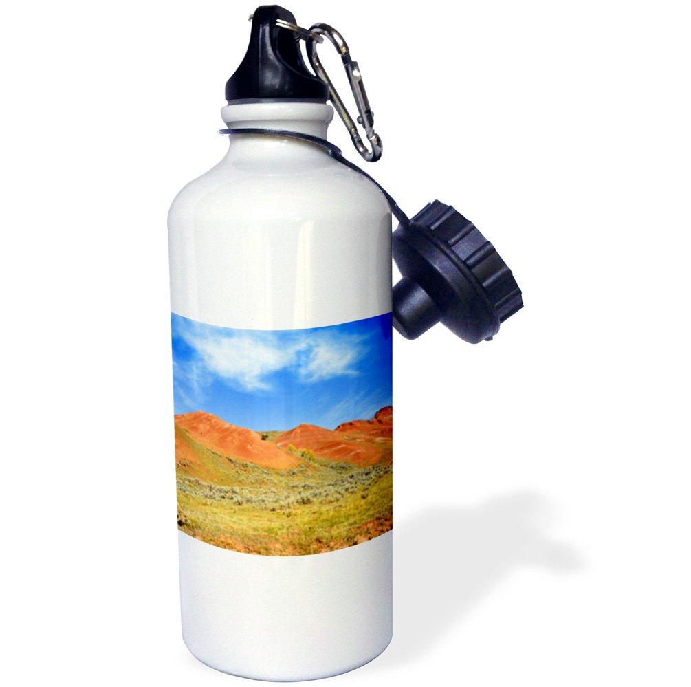 3D Rose wb/_231994/_1 Sports Water Bottle 21 oz White
