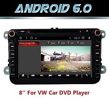 Android 6.0 WiFi Quad Core Modelo Autoradio GPS 2 DIN de 8 ...