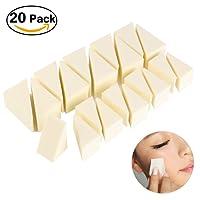 PIXNOR Makeup Wedges Foundation Sponge Nail Art Sponges Non Latex - 20 Pack