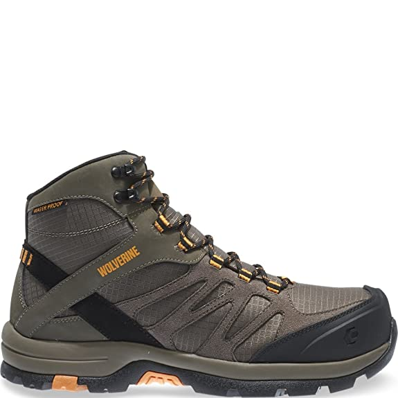 Amazon.com | Wolverine Fletcher Mid Waterproof CarbonMax EH Hiking Boot |  Hiking Boots