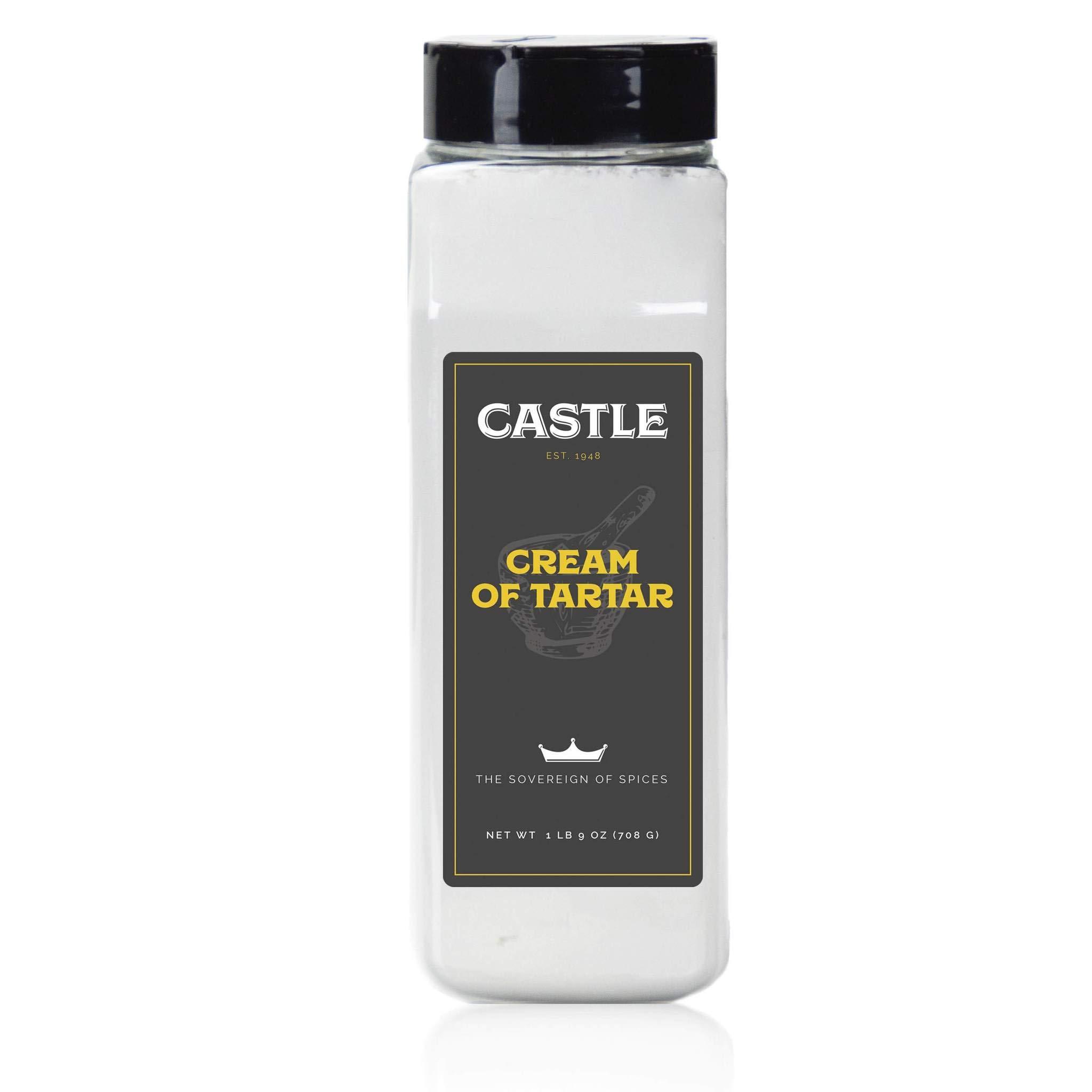Castle Foods | CREAM OF TARTAR, 25 oz Premium Restaurant Quality