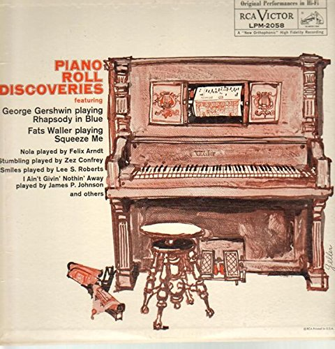 Piano Roll Discoveries Featuring George Gershwin