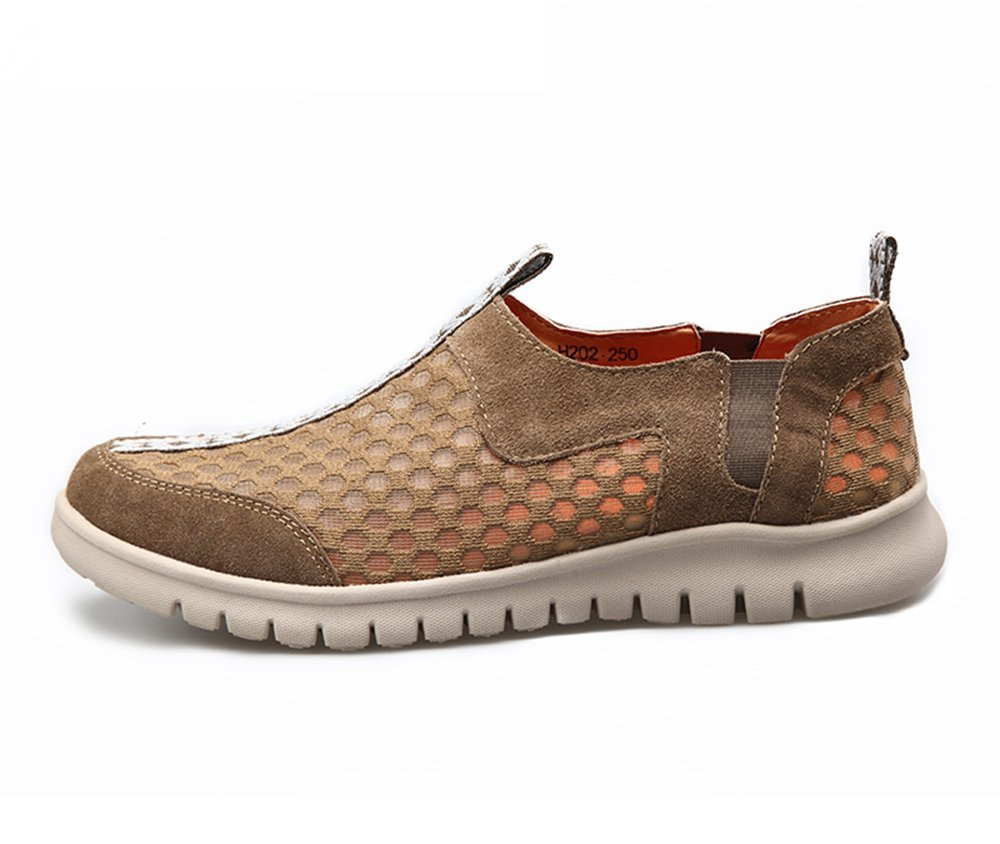 2016 HumgFeng New Style Mens Breathable Casual Shoes Mesh Comfort Shoes