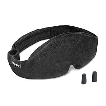 c1dbac315 Cabeau Midnight Magic Sleep Mask – Adjust Padded Nose Strip to Block or  Blackout Light -