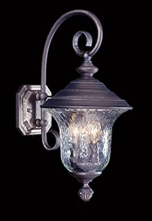product image for Framburg 8320 SBR 3-Light Carcassonne Exterior Wall Mount, Siena Bronze