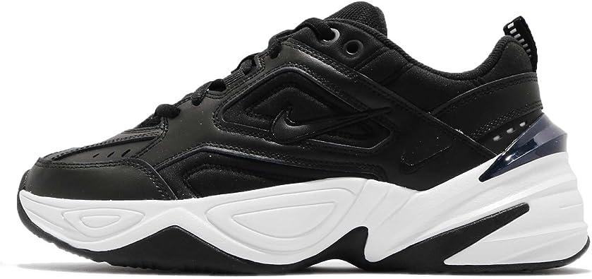 Nike Women's M2K Tekno Sneakers AO3108 003 Sz 9.5 BlackBlack OffWhite Obsidian