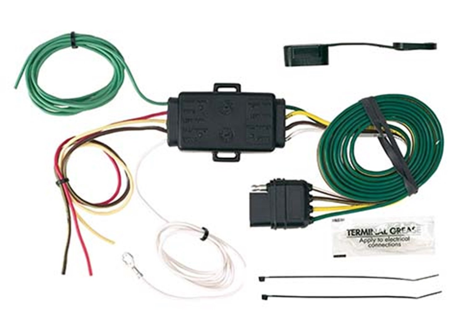 Hopkins 48895 Incandescent Led Taillight Converter Addition Trailer Wiring Harness Adapter On Car Automotive