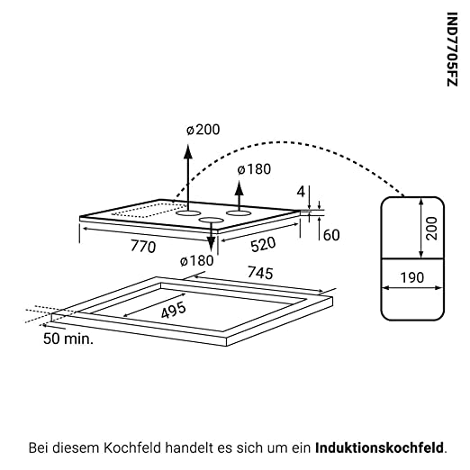 Horno eléctrico integrado 60cm EB8012EDP + placa de ...