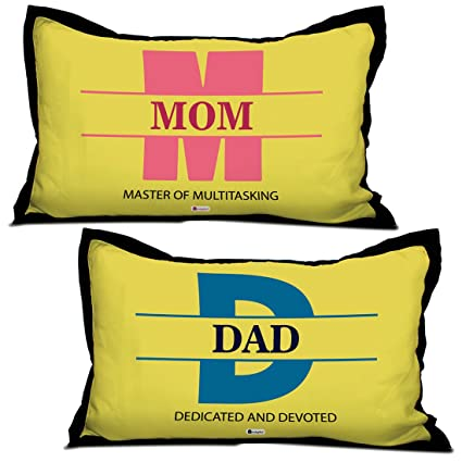 Buy Indigifts Parents Anniversary Gifts Mom Dad Quote Yellow 17x27