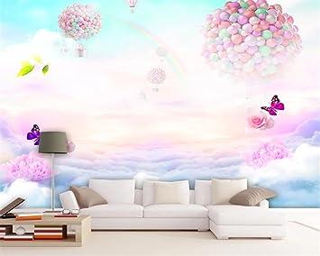 Hhcyy Enfant Chambre Fond Decoration Murale Grande Murale Papier
