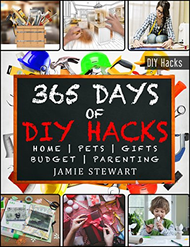 365 Days of DIY Hacks - Home, Parenting, Pets, Gifts, Budged