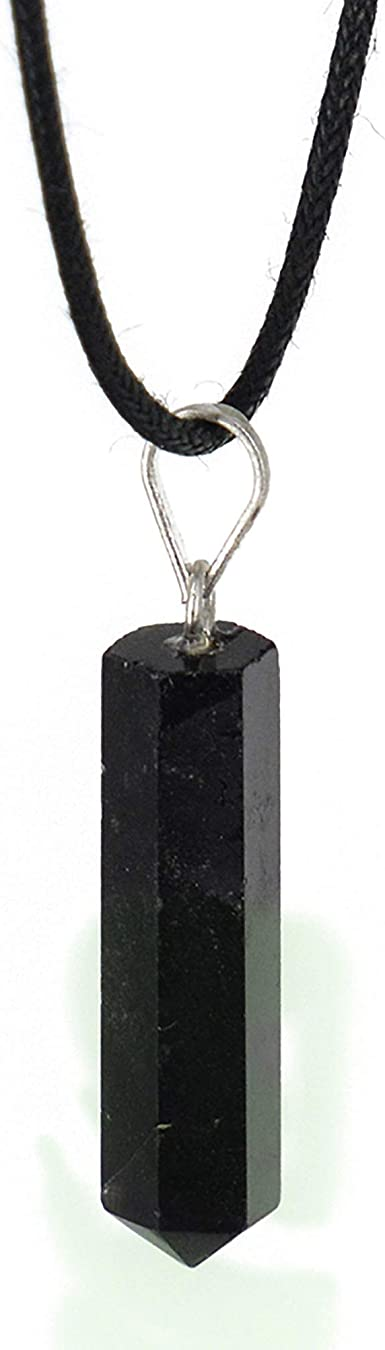 Obsidian Healing Crystal Necklace for Women Obsidian Stone Hexagon Point Wrapped Braided Necklace for Men Black Obsidian Pendant Necklace