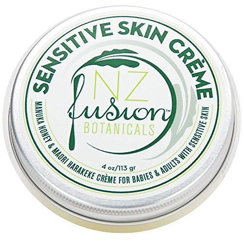 NZ Fusion Botanicals Sensitive Skin Cream with Active Manuka Honey and Harakeke (Best Skin Care Products Nz)