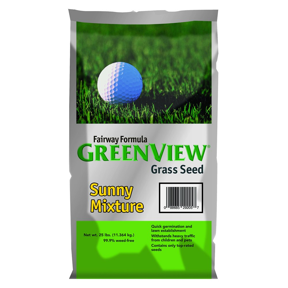 GreenView Fairway Formula Grass Seed Sunny Mixture, 25 lb Bag
