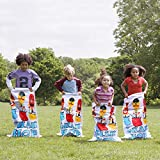 "BESTOYARD Birthday Party Games 6 Pcs Potato Sack Race Game 24""x41"" Luau Hop Party Activity"