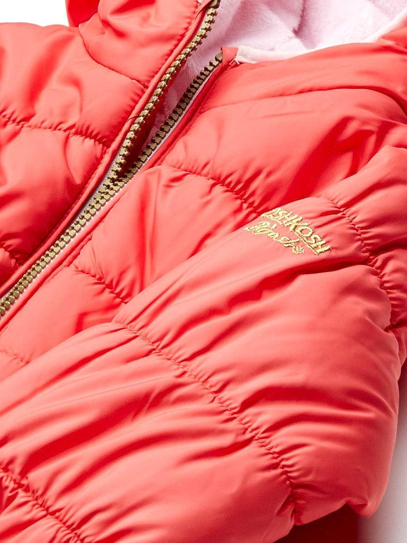 Osh Kosh Girls Toddler Heavyweight Winter Coat with Cinched Waist