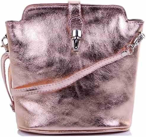 d83eced2db3b Primo Sacchi Italian Leather Hand Made Adjustable Strap Cross Body or Shoulder  Bag Handbag