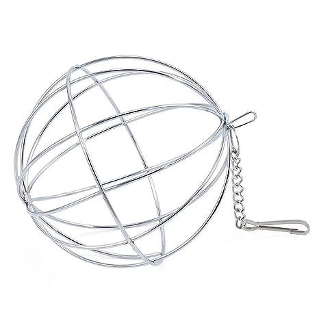 Voraca - Dispensador de Alimentos para Colgar heno Bola de cobaya, hámster, Conejo,