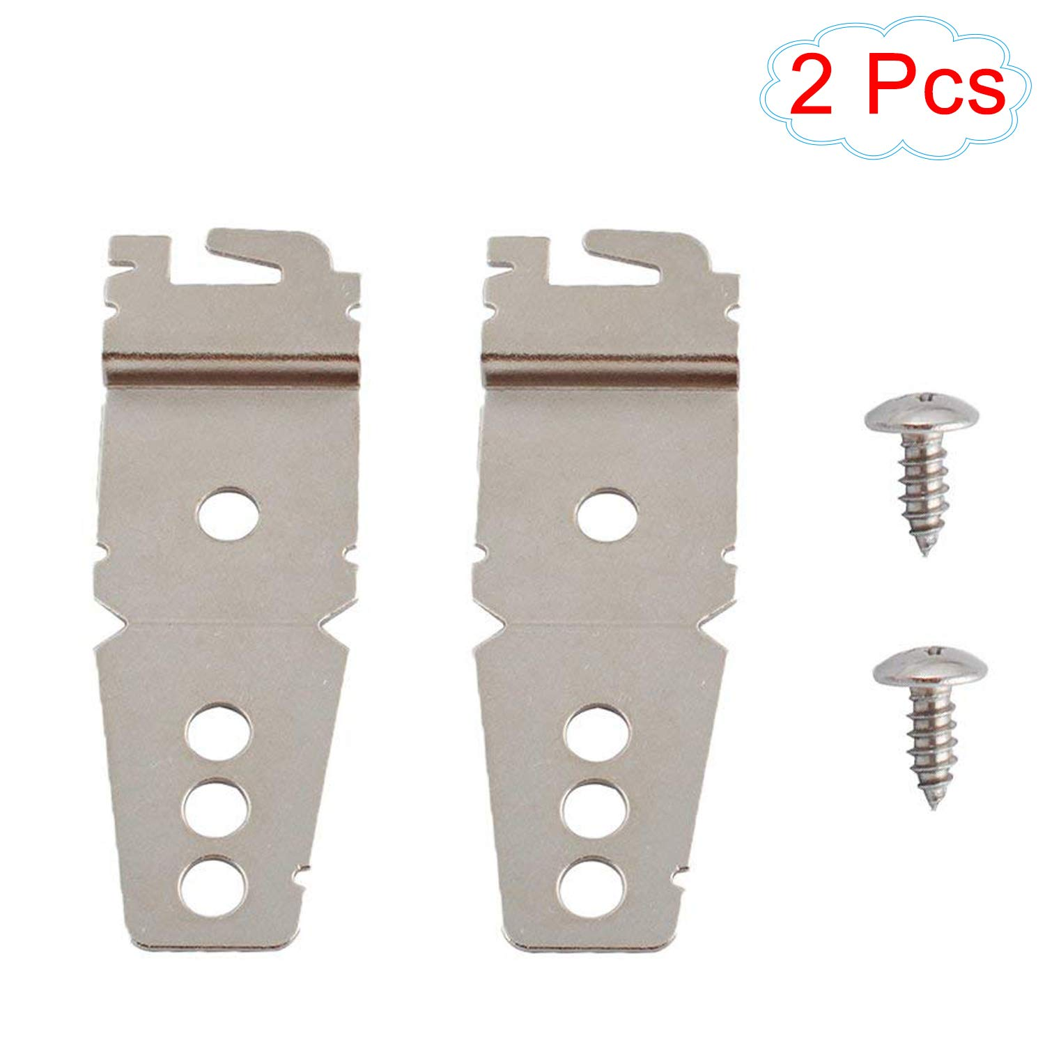 8269145 Dishwasher Brackets Mounting Bracket Clips Replacement for Whirlpool Kenmore Sears Maytag Amana Jenn-Air Crosley Roper Mag WP8269145
