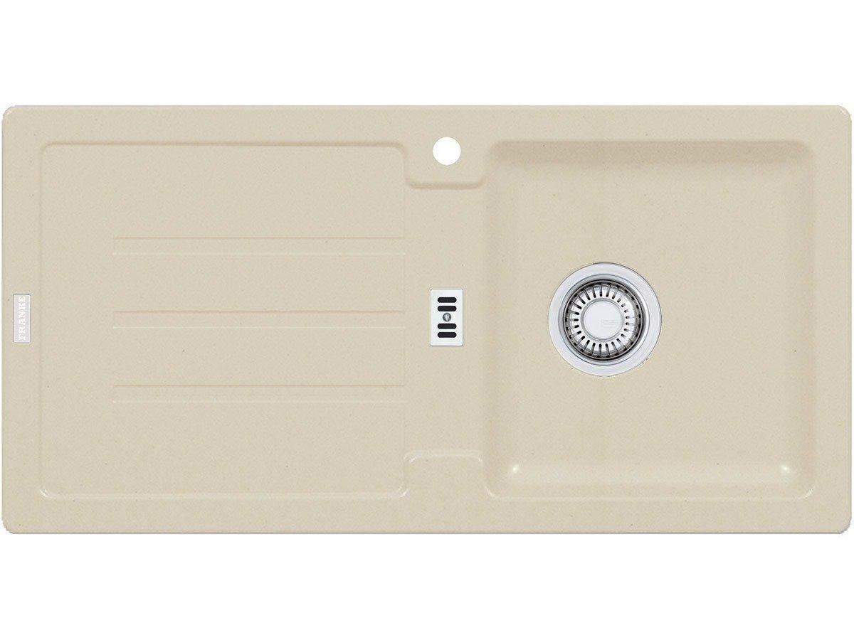 FRANKE - LAVELLO BAHIA 611 860X500 AVENA 1 VASCA CON SGOCCIOLATOIO ...