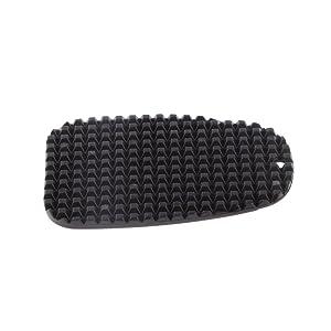 Reposapiés Placa Base de Pie de Plástico Negro para Yamaha Moto Motocicleta