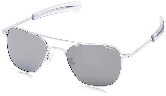 Aviator de ingeniería de Randolph cromado brillante gafas de ...