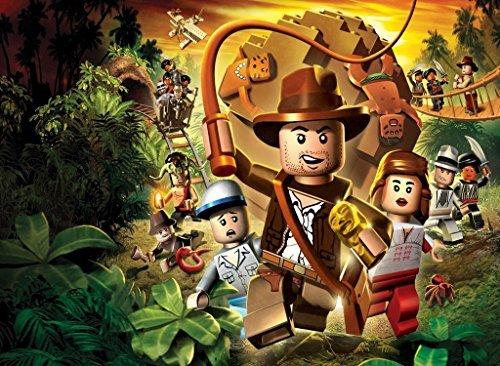 Lego Indiana Jones Adventure 1/4 Sheet Edible Photo Birthday Cake Topper Frosting Sheet Personalized!