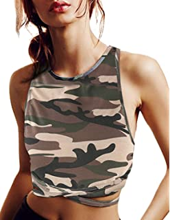 e35add2af5d ASMAX HaoDuoYi Womens Jersey Training Sports Crop Top Backless Tank T Shirt