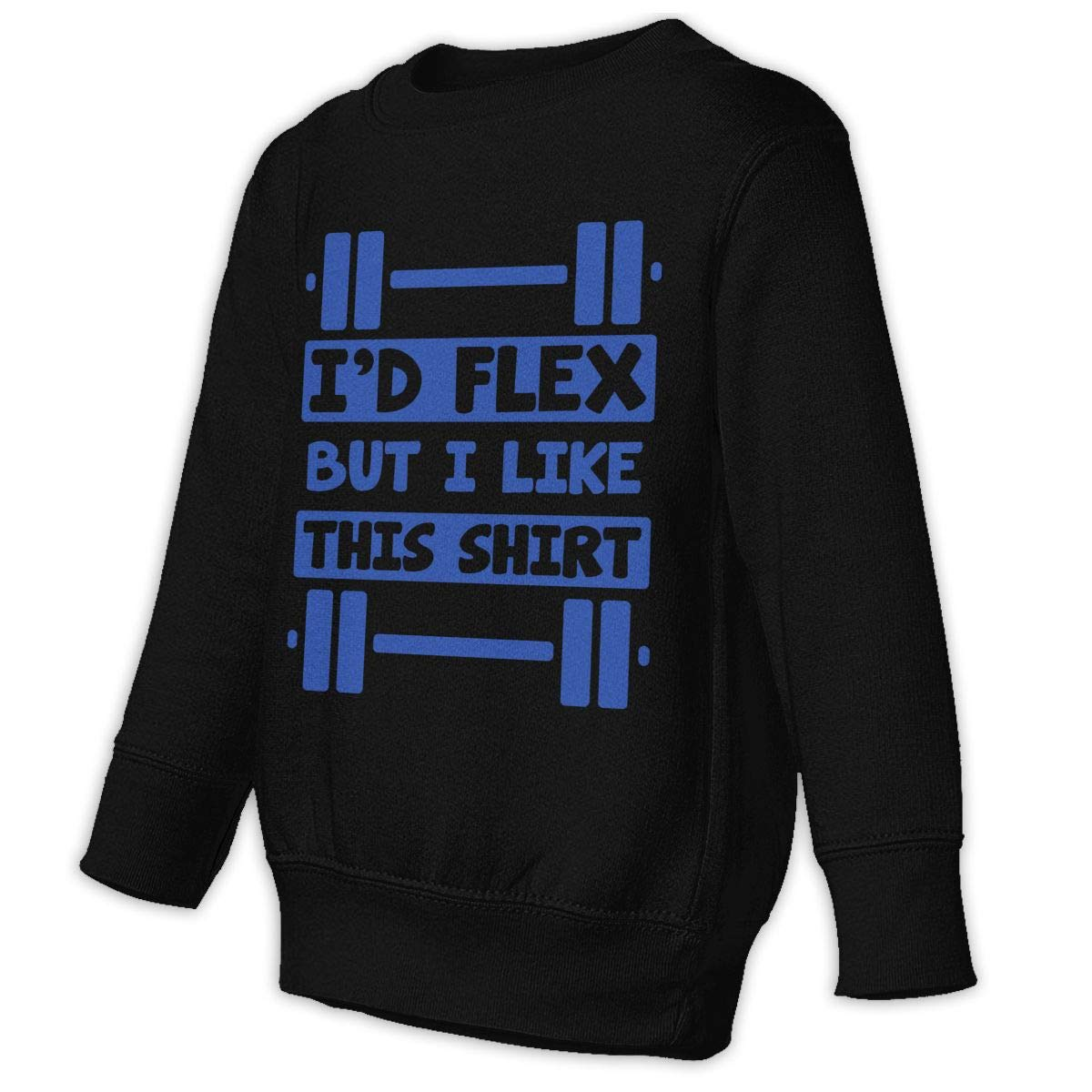 NMDJC CCQ Id Flex But I Like This Shirt Baby Sweatshirt Lovely Toddler Hoodies Soft Sweaters