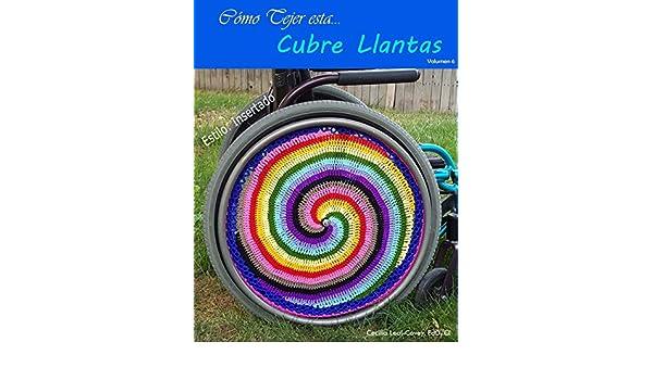 Amazon.com: Cubre Llantas Decorativa Tejida Con Mandalas Y Formas Fractales: Decoración para las Llantas de una Silla de Ruedas (Volumen nº 6) (Spanish ...