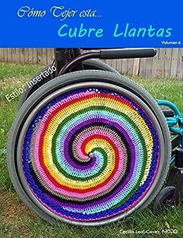 Cubre Llantas Decorativa Tejida Con Mandalas Y Formas Fractales: Decoración para las Llantas de una