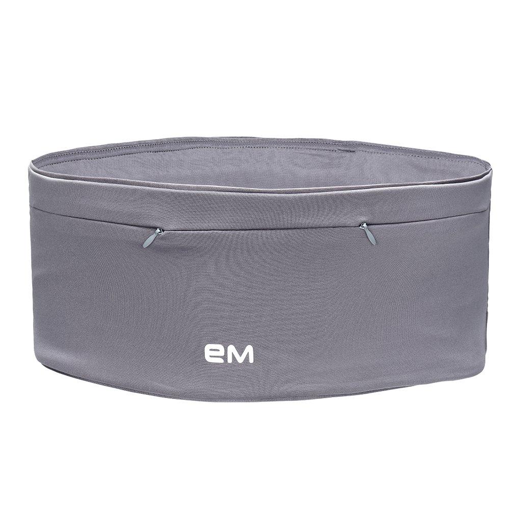 EAZYMATE Fashion Running Belt Travel Money Belt with Zipper Pockets Fit All Smartphones and Passport