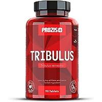 Prozis 100% Pure Testosterone Booster Supplement Tribulus Terrestris 1000mg - Fonte naturale d'energia - Migliora la libido e innalza i livelli energia - Potenzia la crescita muscolare - 90 compresse!