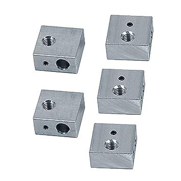 Yardwe 5pcs Bloque de Calentador de Aluminio de la Impresora 3D ...