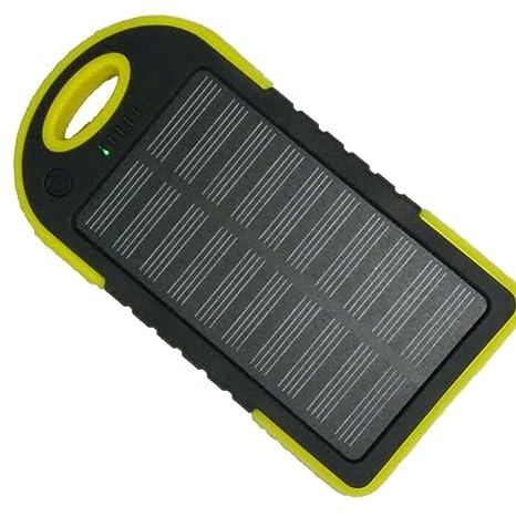 Carcasa de plástico al aire libre viaje doble USB solar ...