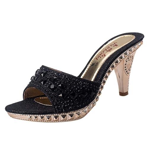 Damen Pumps Größe 43 9 Absatz 3,5 cm schwarz Schuhe schick