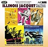 5 Classic Albums - Illinois Jacquet - Kid & Brute / Swing's the Thing / Flies Again
