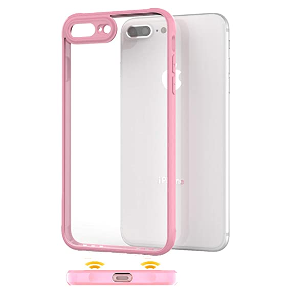 3e49b951bc ANHONG iPhone 7 Plus/8 Plus Protective Case for Girls orWomen, [Dustproof]