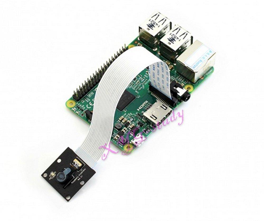 XYG-Study [RPi Camera (D)] Original Raspberry Pi 3 2 1 Model B B+ A+ Camera Module OV5647 sensor HD Video 2592*1944 Resolution fixed-focus Board -RPi Camera (D) @XYGStudy