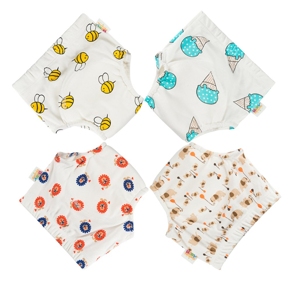 Babyfriend Baby Girls' Washable 5 Pack Training Pants Kids Potty Cloth Diaper Nappy Underwear Gonghao Textile Co. Ltd