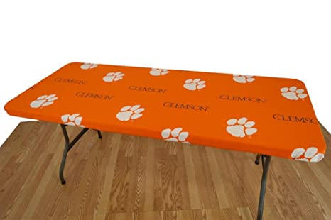 College Covers Clemson Tigers Card Table Cover, 33 By 33u0026quot;