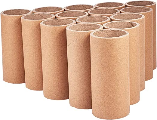 120 Cardboard Tubes Empty Toilet Roll Tubes Card Recycled Arts and Crafts