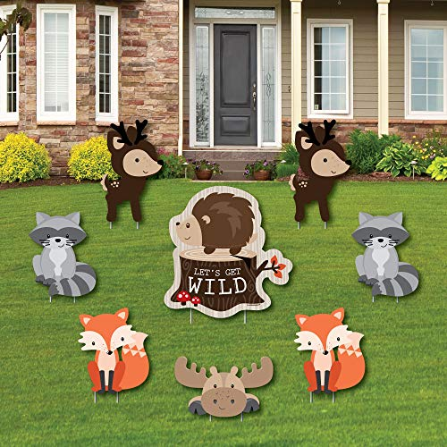 Woodland Creatures - Yard Sign & Outdoor Lawn