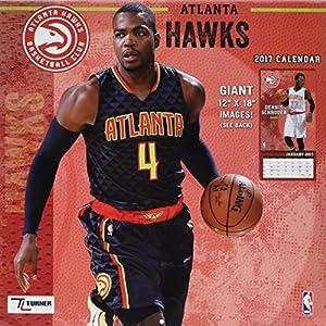 Atlanta Hawks 2017 Calendar