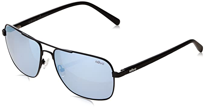 a8c141ea253 Image Unavailable. Image not available for. Color  Revo Unisex RE 5022 Peak  Navigator Polarized UV Protection Sunglasses Aviator ...