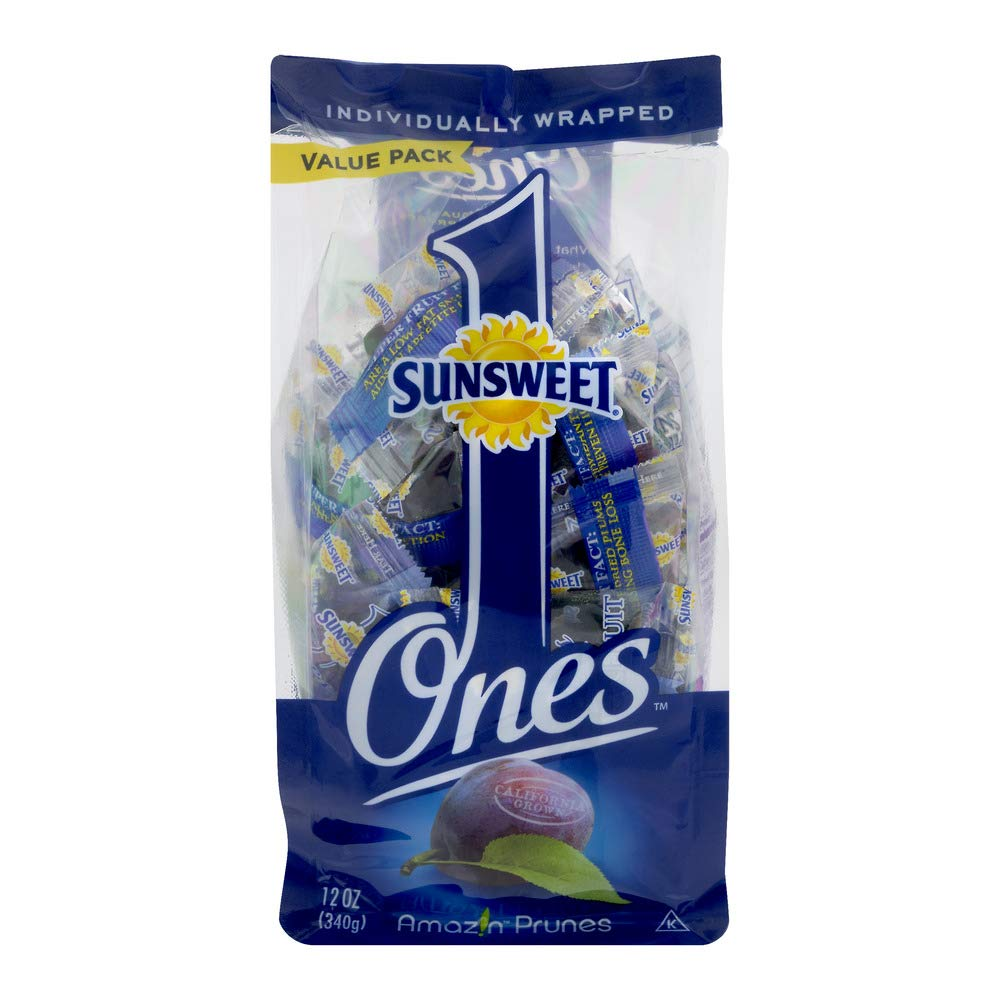 Sunsweet Amazin Prunes Blend Value Pack, 12 Oz - 4 Pack by Sunsweet