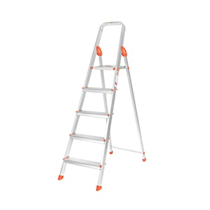 Bathla Advance 5-Step Foldable Aluminium Ladder