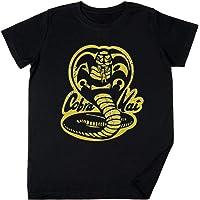 Vendax Cobra Kai - Cobra Kai Niños Chicos Chicas Unisexo Camiseta Negro